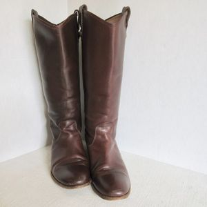 FRYE Boots Tall Boots SZ 8.5 leather